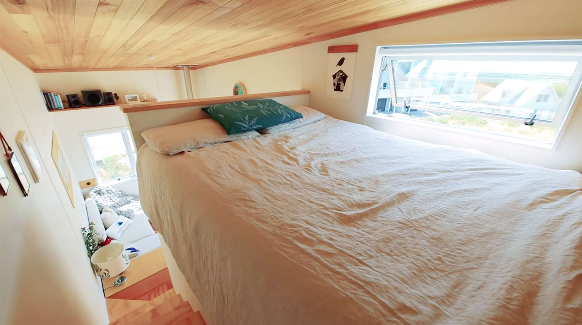 tiny house with movie loft Living Big In A Tiny House bedroom