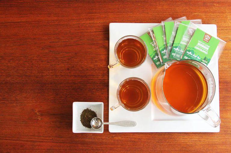 El té de hojas de café es la nueva bebida más caliente