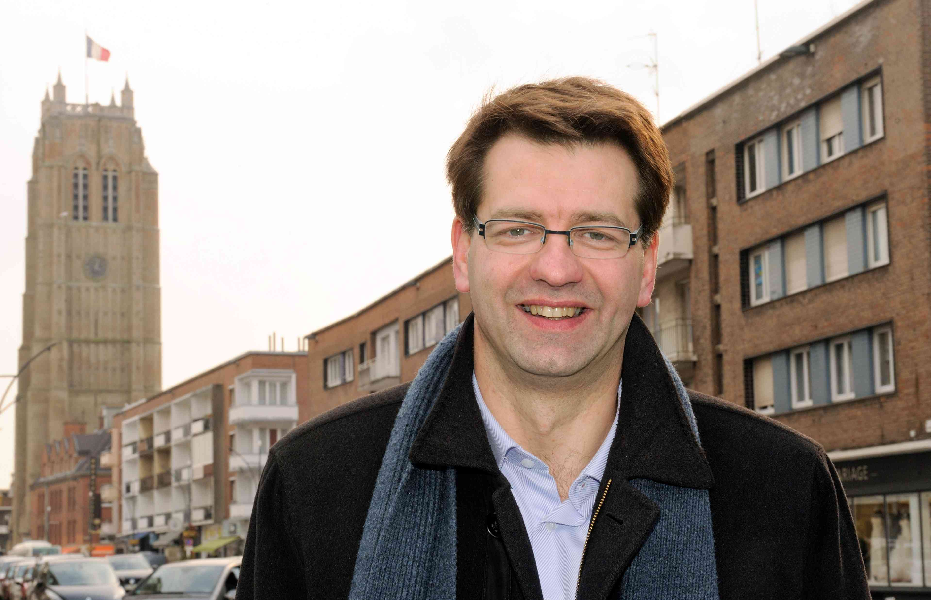 Dunkirk Mayor Patrice Vergriete in 2014