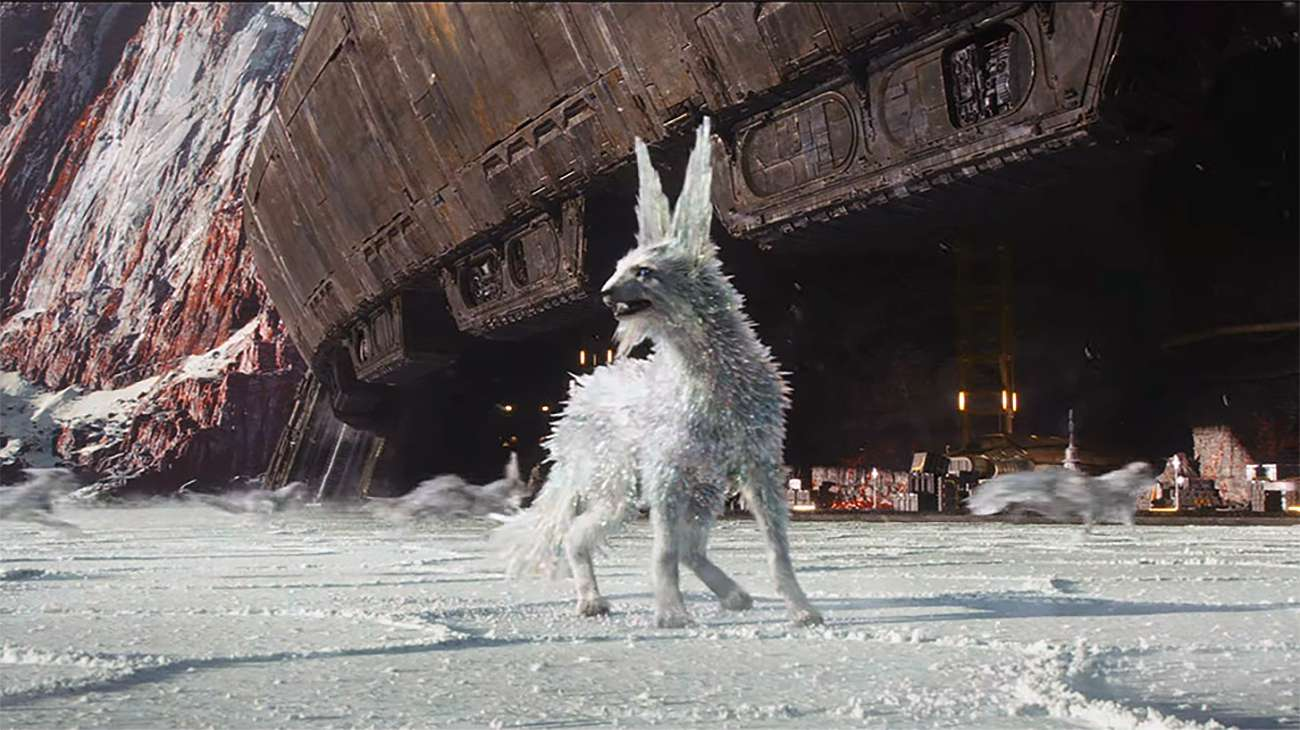 The crystalline vultpex in 'The Last Jedi' is the latest fascinating creature to come from the 'Star Wars' universe.
