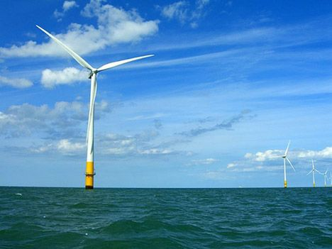 kentish flats wind farm offshore wind turbine photo