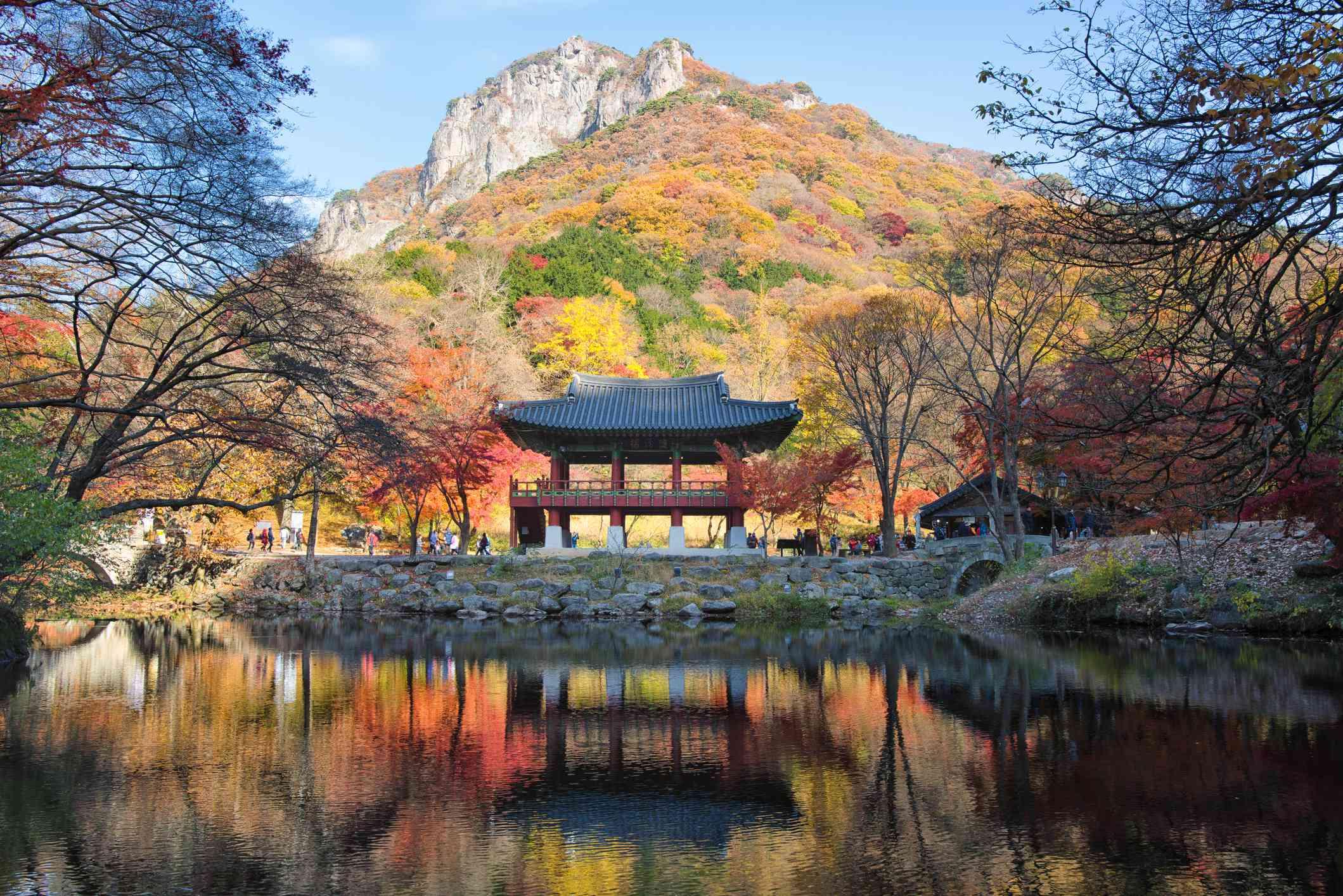 Baekyangsa Temple in Jangseong County, South Korea