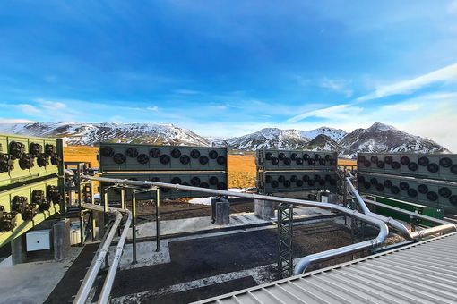 Climeworks in Iceland