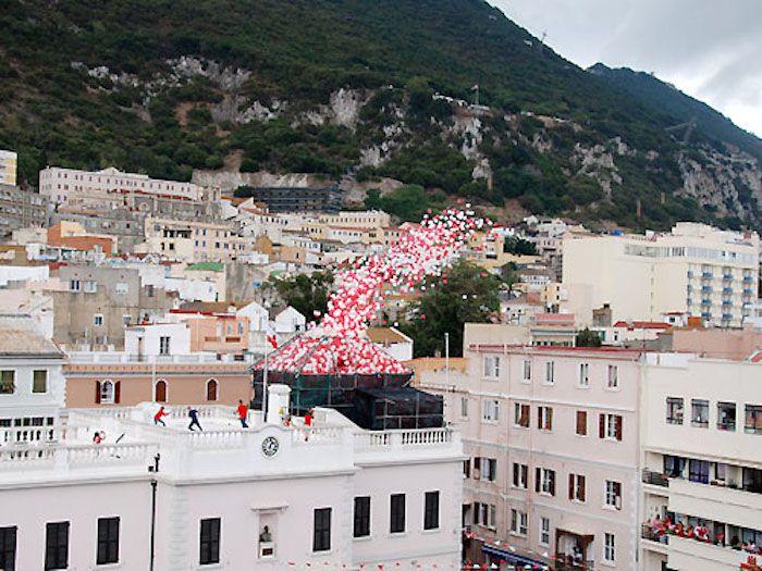 Gibraltar National Day balloon release