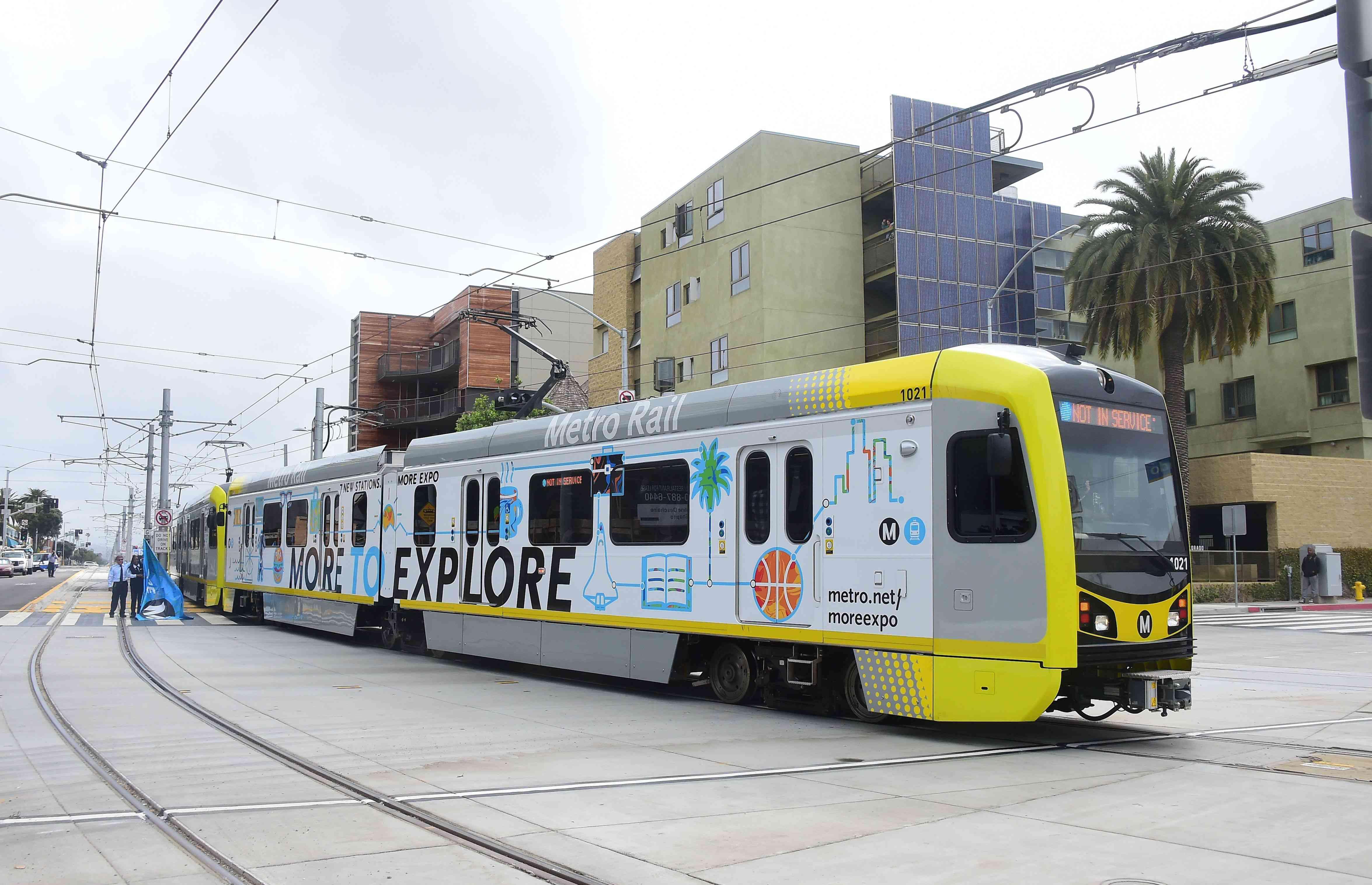 Expo Line extension, Santa Monica, California