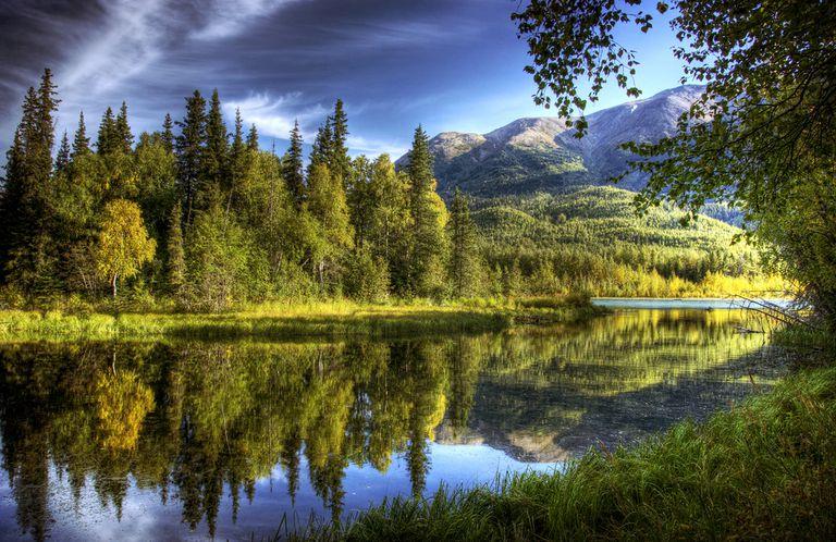 The Kenai River in Alaska