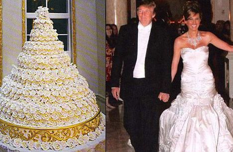 donald trump wedding photo