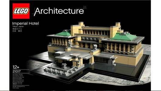 Edificio demolido de Frank Lloyd Wright recordado en forma LEGO