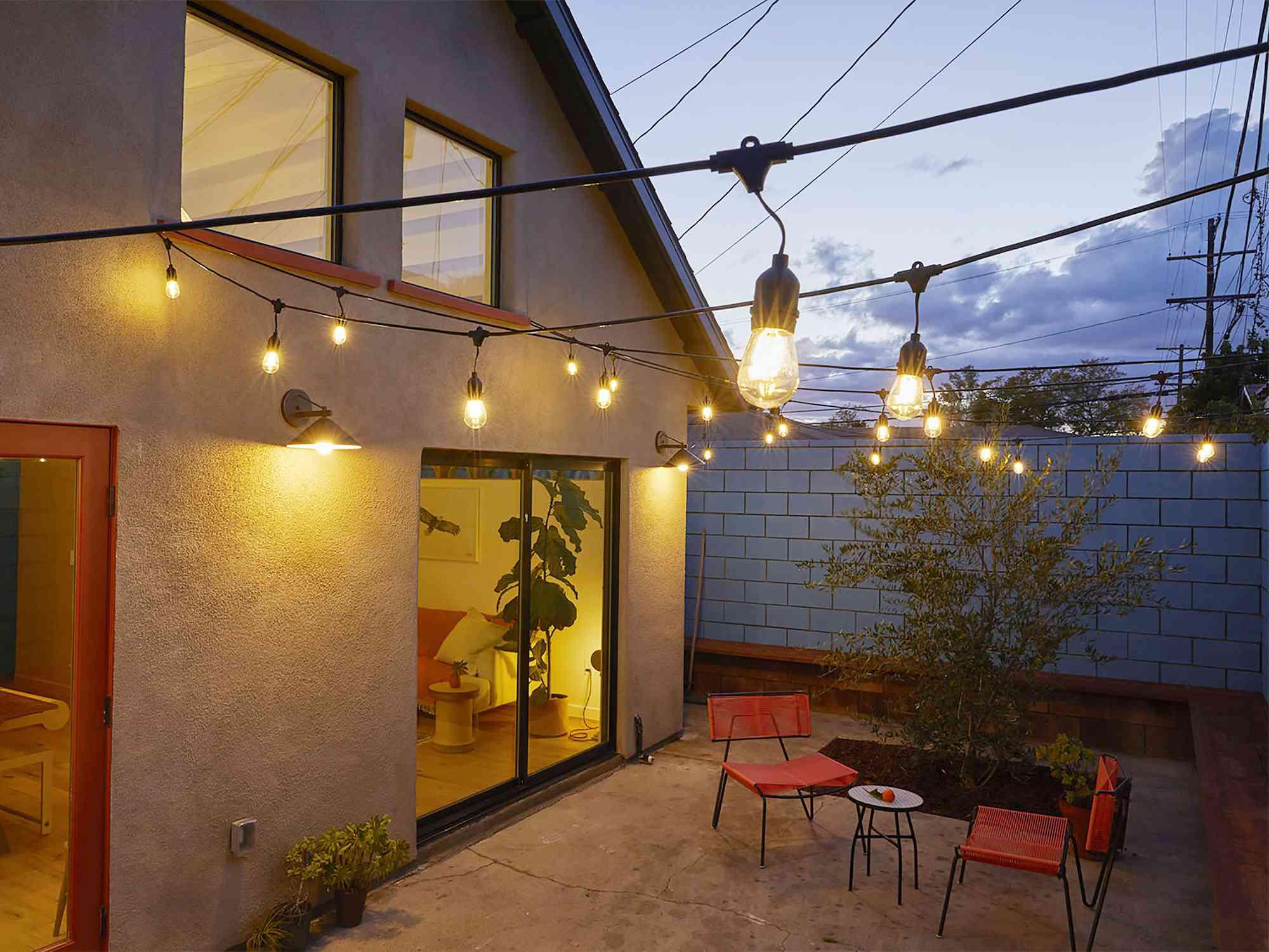 Highland Park ADU by Bunch Design back patio