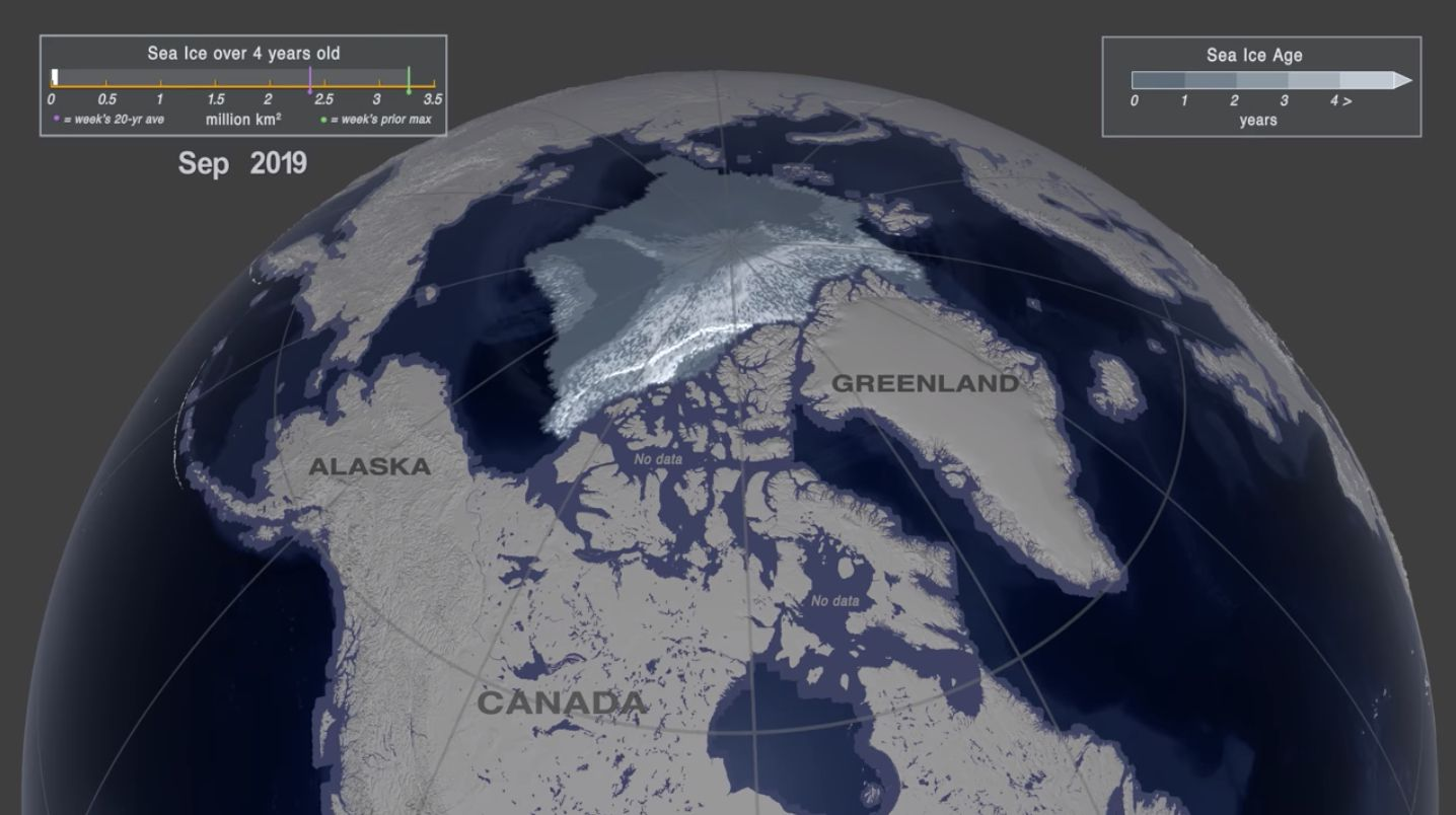 See How Much Arctic Ice Has Vanished Over the Last 25 Years