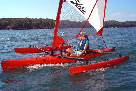 Vela, Kayak o Pedal: Tres Barcos en Uno
