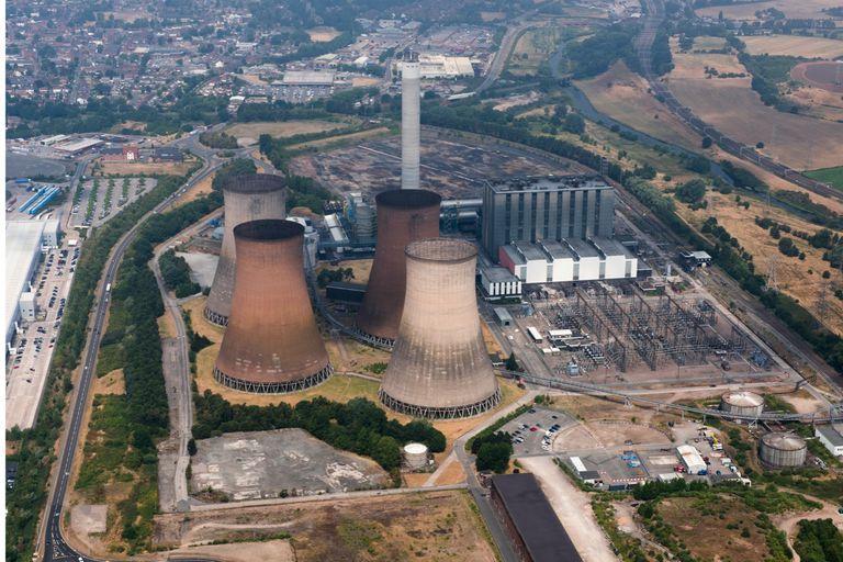 Closed power plant UK