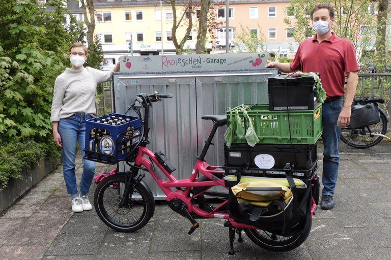 e-bike rides from zero waste store