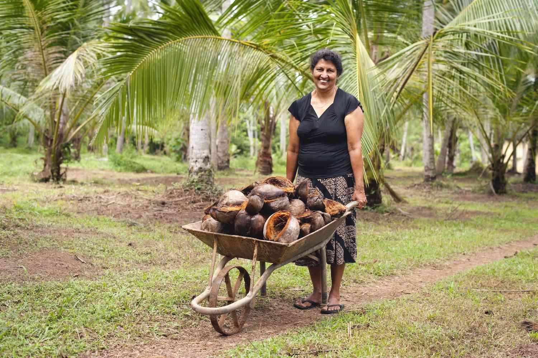 Dr Bronner's coconut farmer