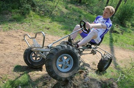 Trail quad bike photo