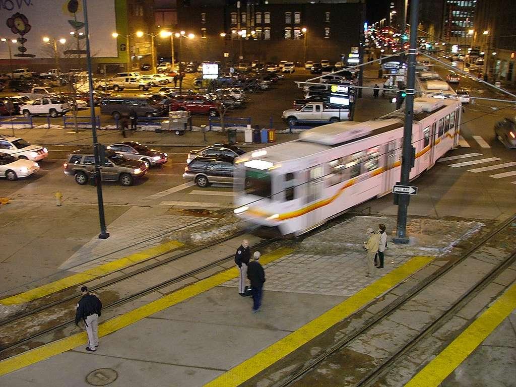 Rail traffic declines.