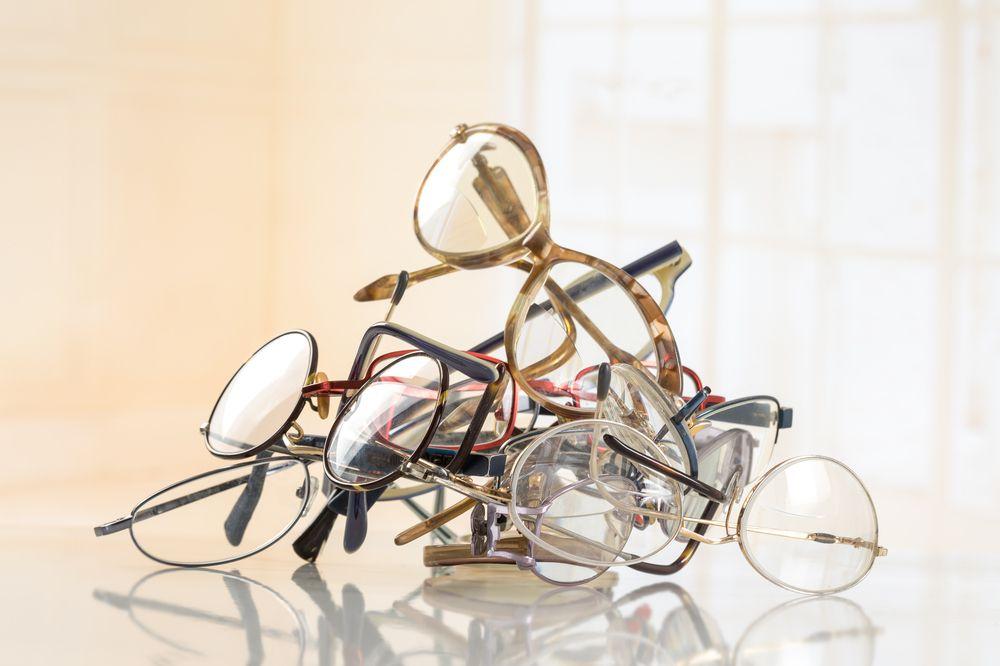 Recycling eyeglasses