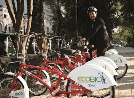 Official Mexico City Bike Sharing Program Ecobici Photo