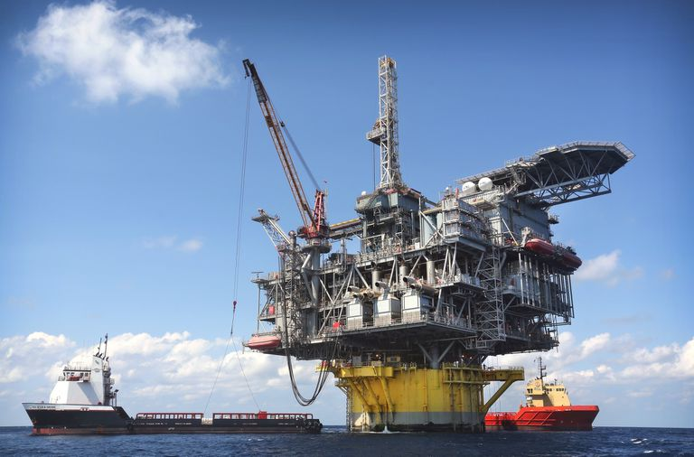 Shell Drilling in the gulf of Mexico
