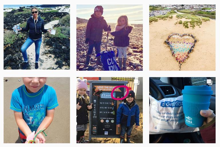 Cómo se volvió viral el movimiento de recoger basura
