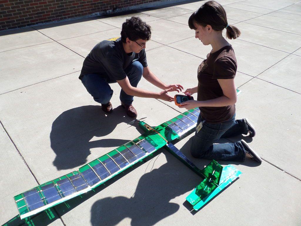 solar plane photo