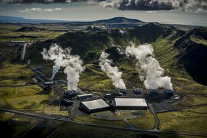 Climeworks Direct-Air Carbon Capture Plant in Iceland.