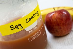 egg coating for fruits and vegetables