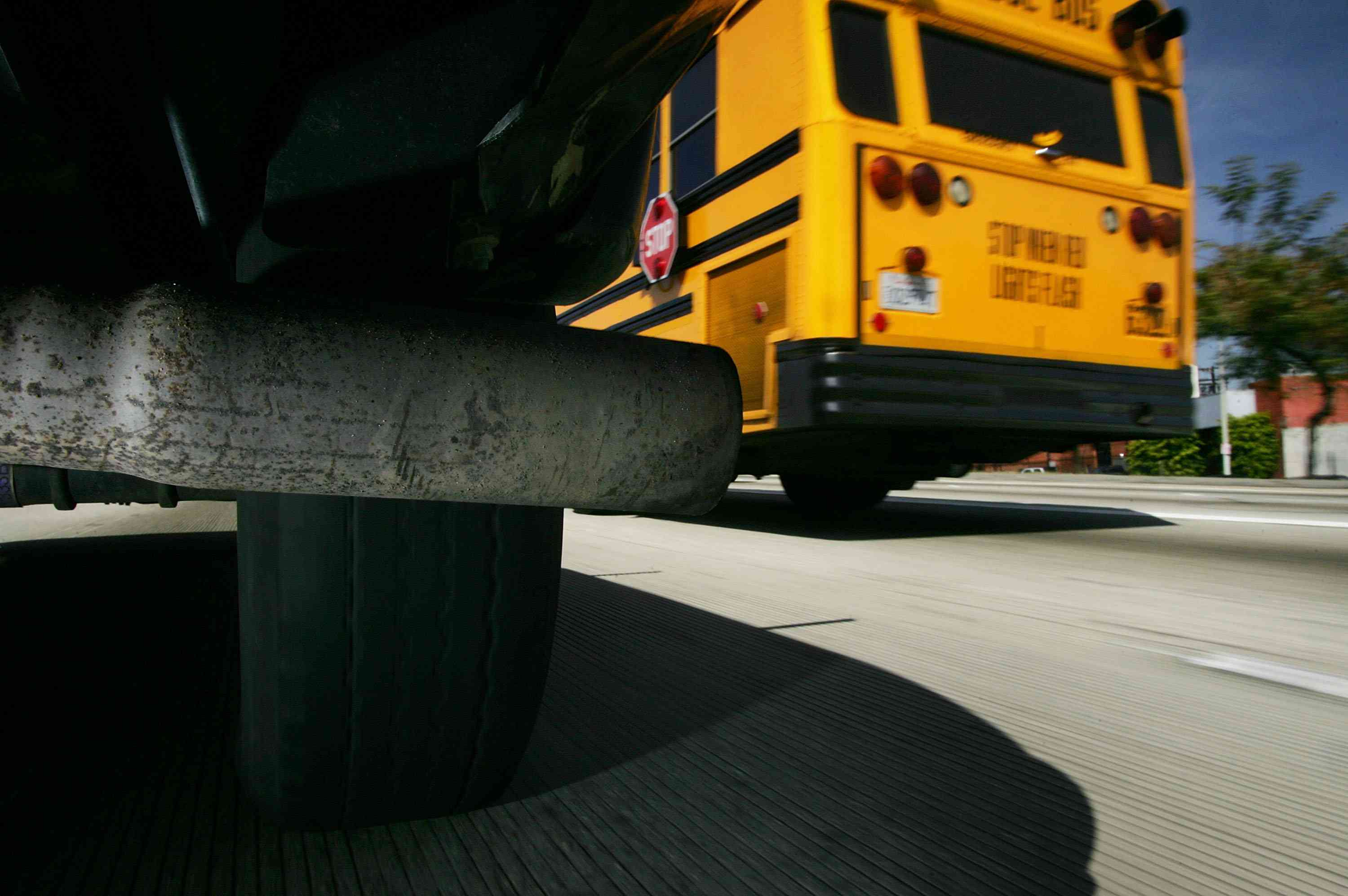 Tailpipe and bus
