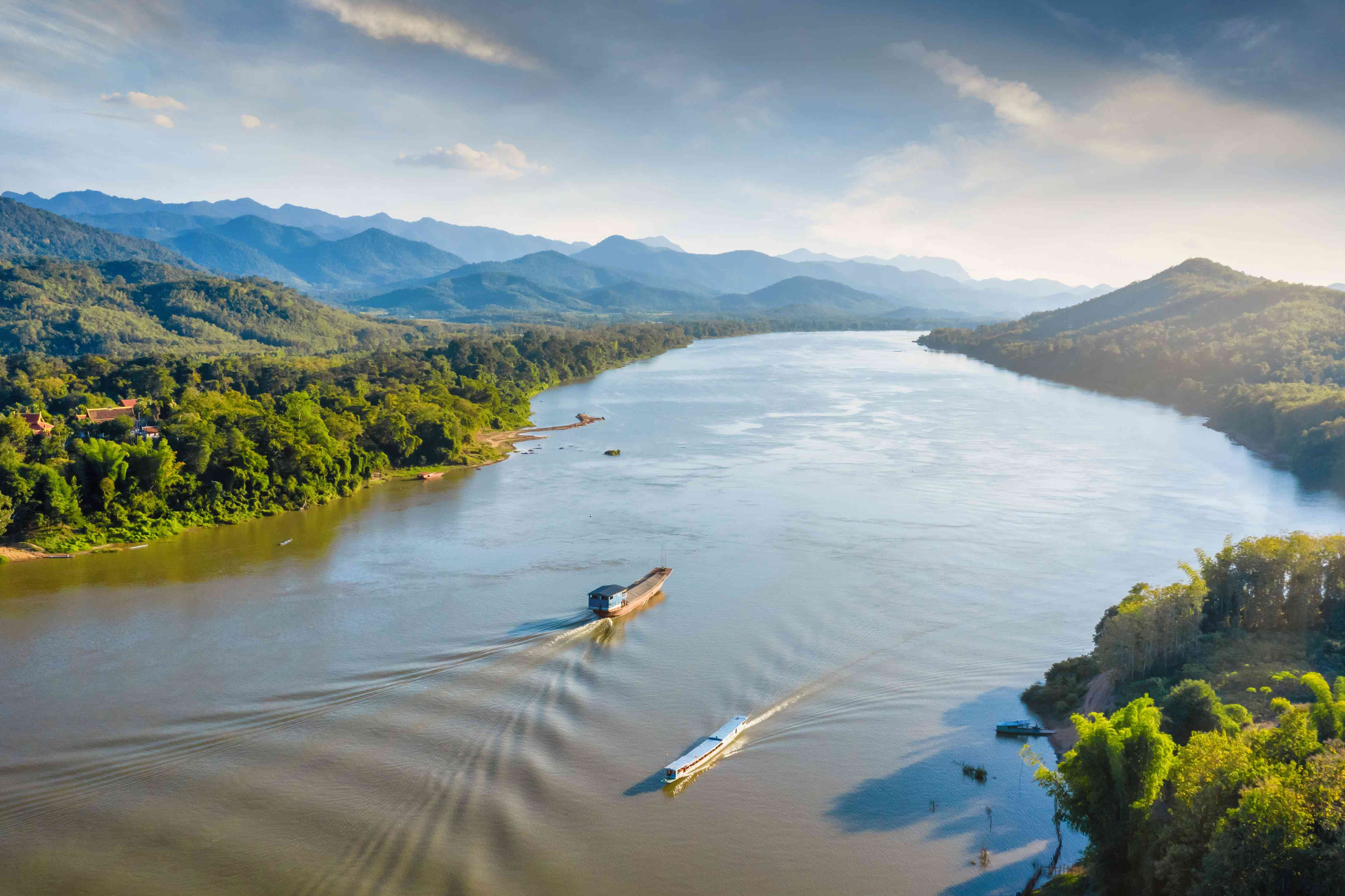 Mekong River in Asia