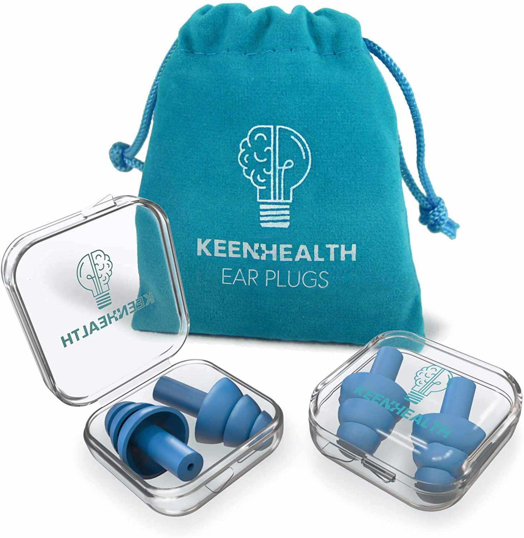 Keenhealth Reusable Ear Plugs