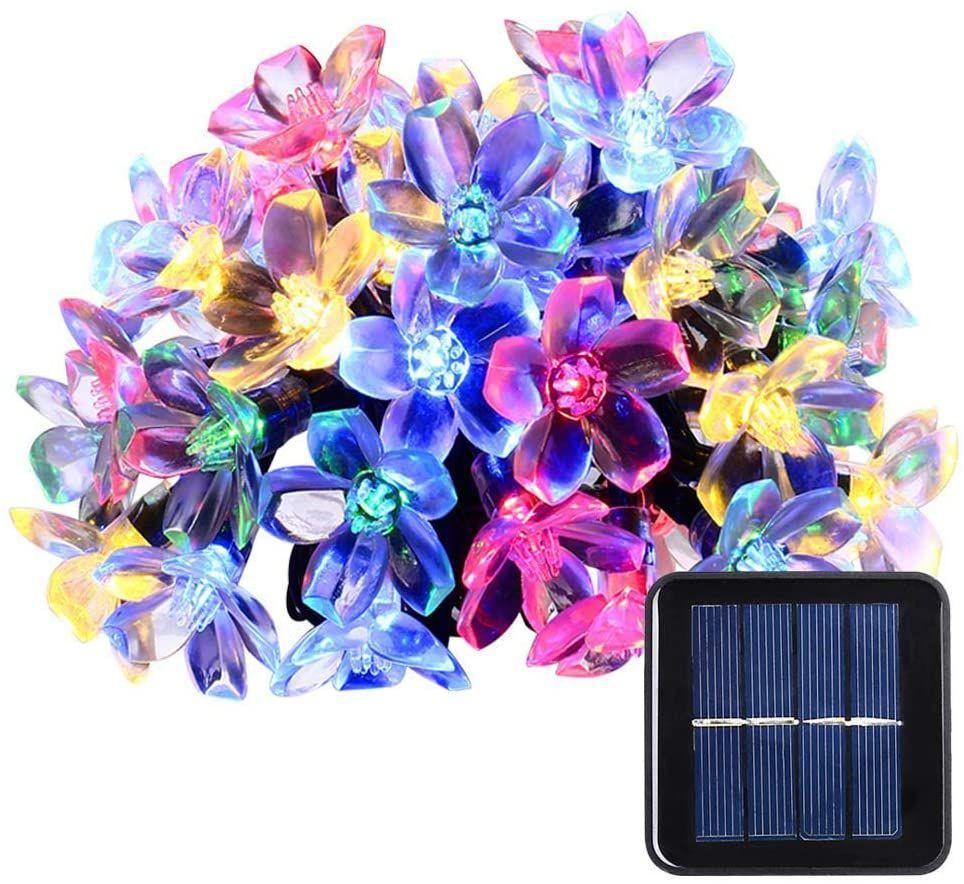 Qedertek Garden Solar String Lights