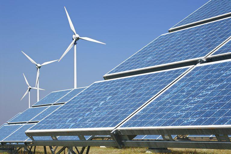 solar power wind