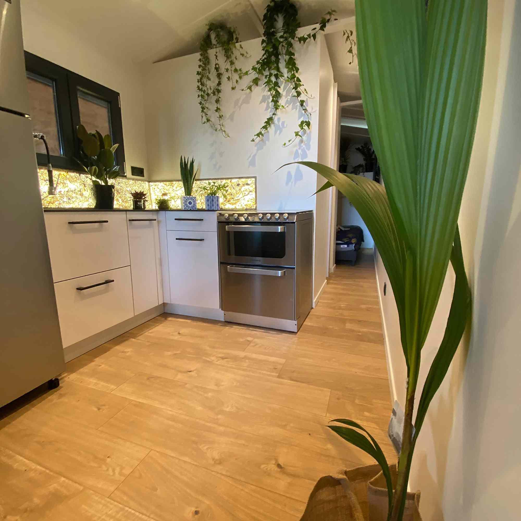 Dejessi tiny house by Tiny House Tarentaise kitchen
