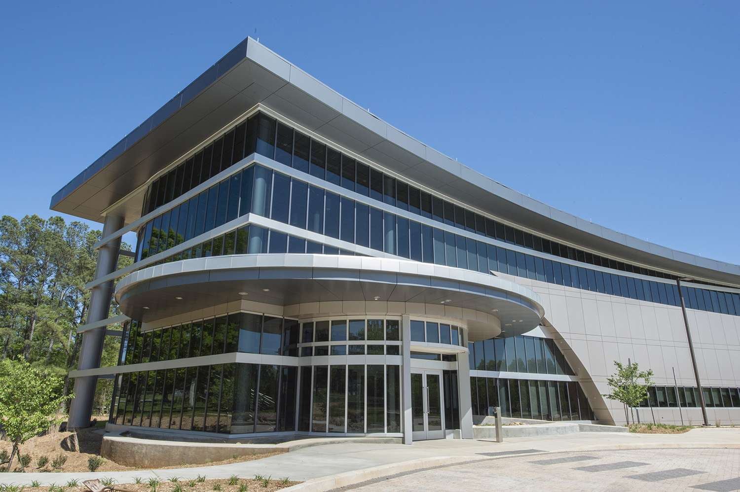 A sustainable building part of Nasa Marshal Space Light Centre.