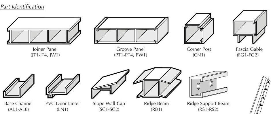 Extruded wall panels Royal Plastics