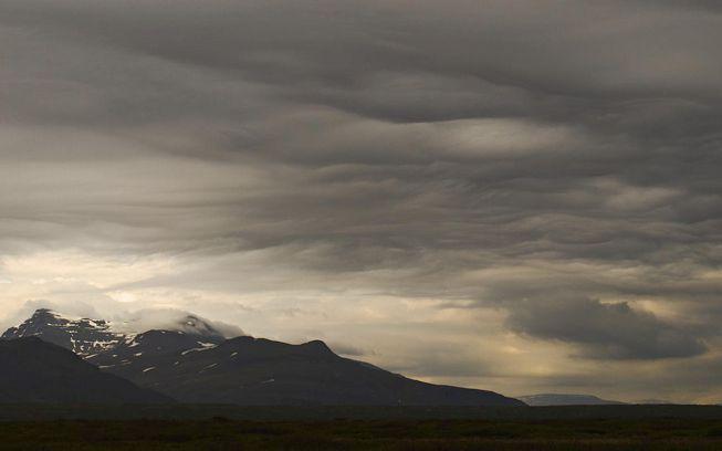 Undulatus clouds over Iceland