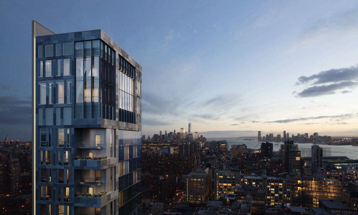 Hudson yards hotel top