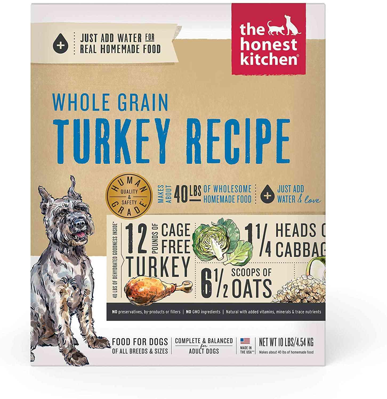 The Honest Kitchen Whole Grain Turkey Recipe