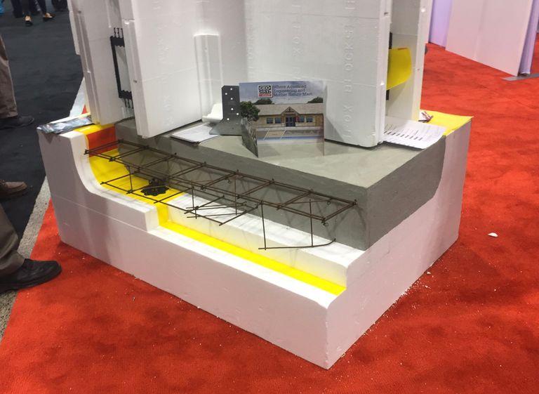 Floating Foam Foundation Insulation