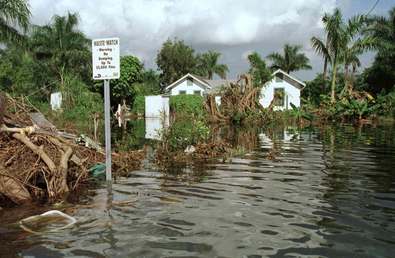 Heavy Flooding Hits Miami