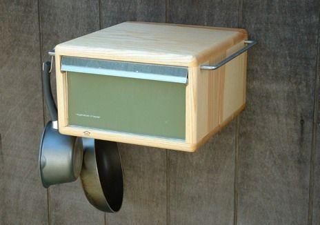 Kitschen: Reutilización kitsch de piezas viejas de frigoríficos