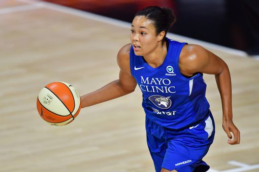 Napheesa Collier, forward for the Minnesota Lynx