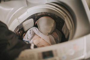 Laundry in a machine