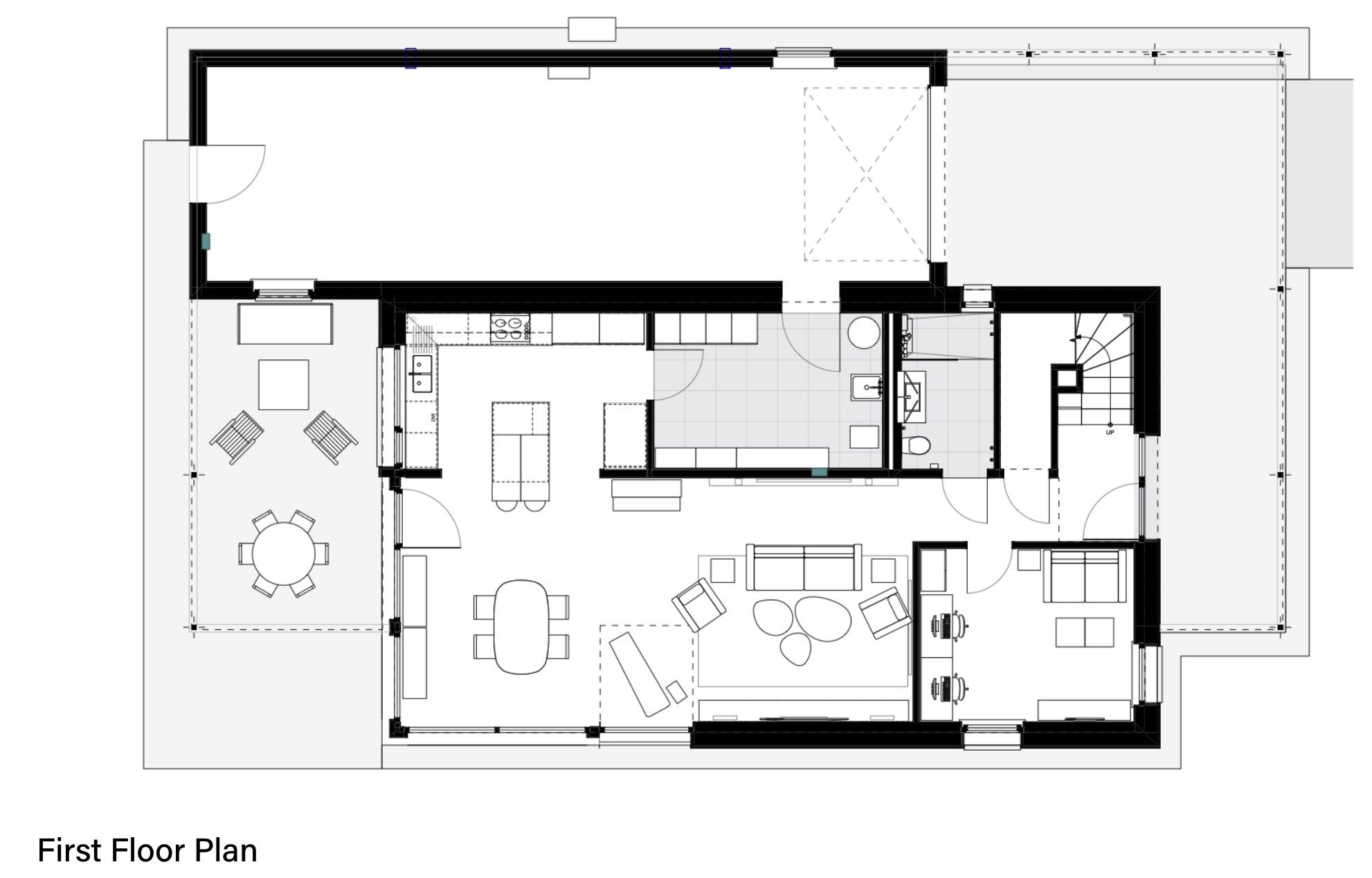 ground floor plan of house