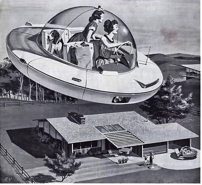 Nos prometieron coches voladores
