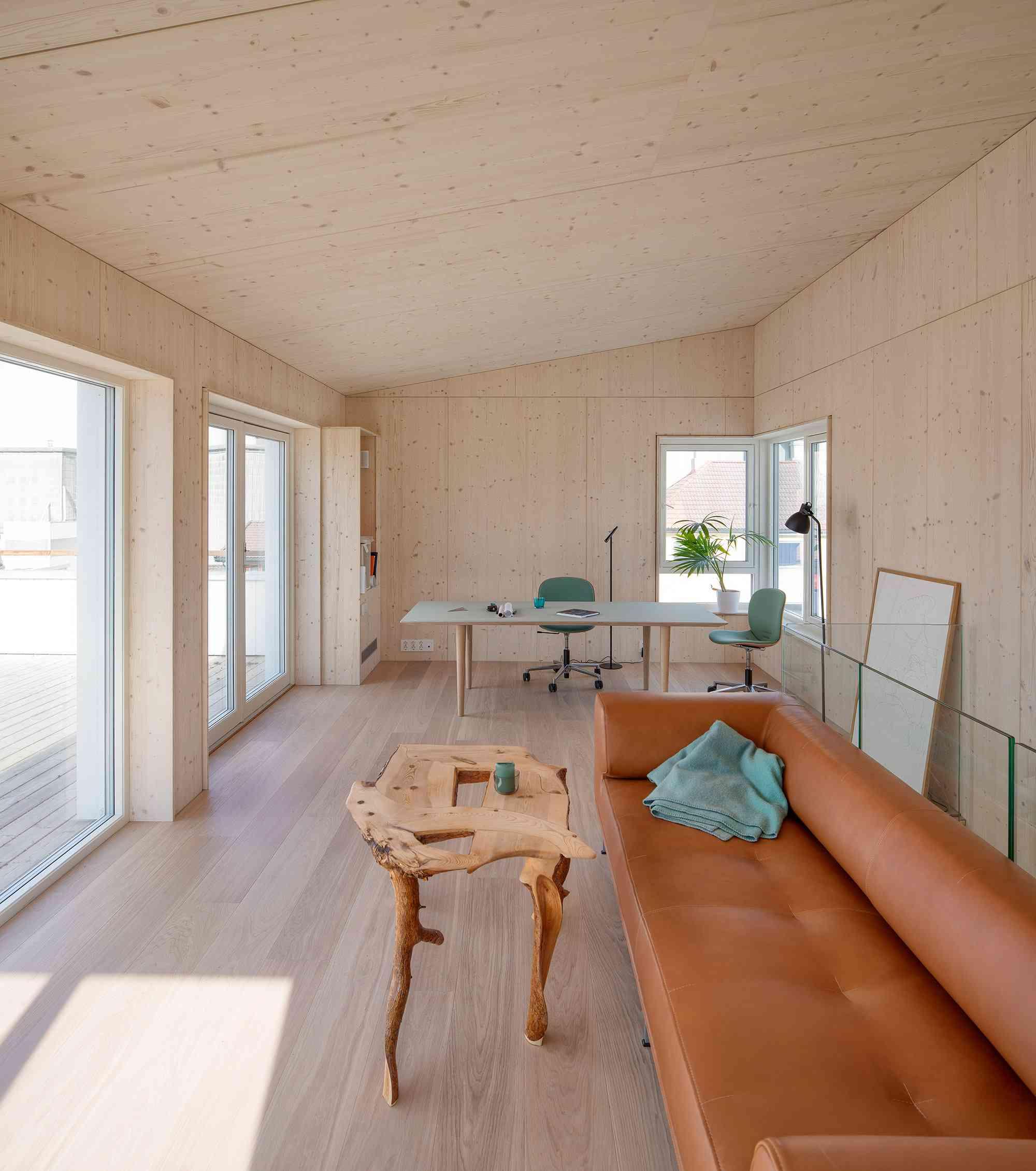 Vindmøllebakken Cohousing Project by Helen & Hard Architects interior of unit