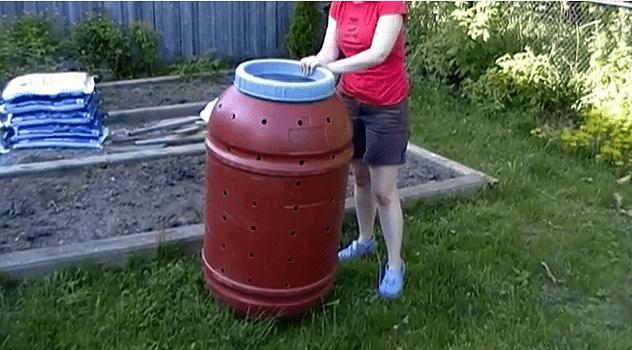 Rolling Compost Bin