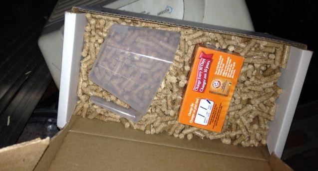 nature mill sawdust pellets photo