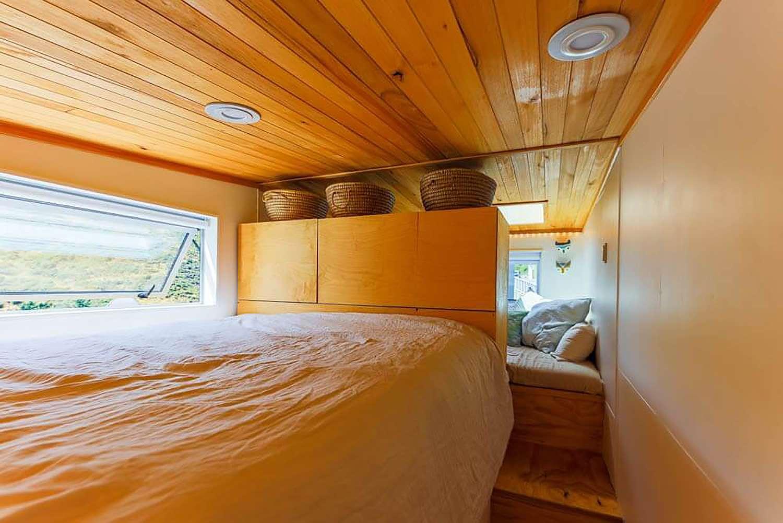 tiny house with movie loft Living Big In A Tiny House loft