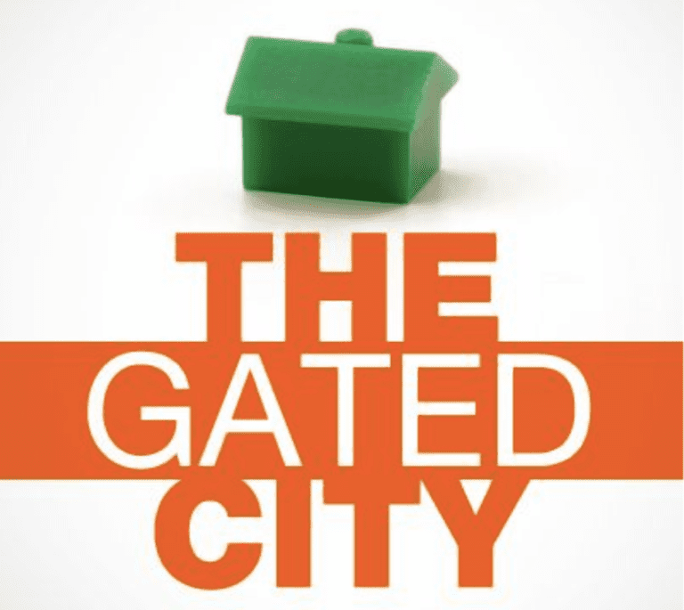 the gated city cover